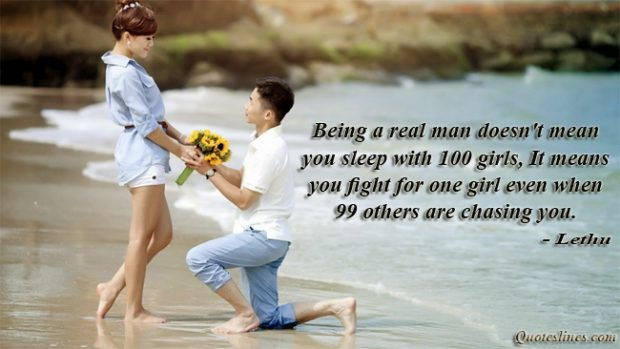 Best-real-men-quotes-with-couple-propose-images