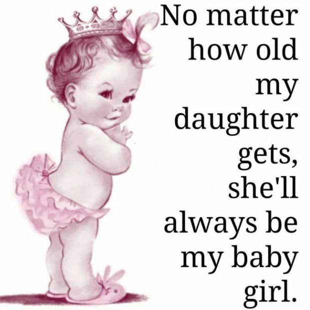 Quotes For A Baby Girl: Baby Girl Quotes & Sayings About Little Girl's With Images