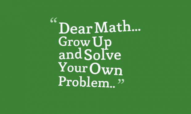 Funny Math Quotes (2)