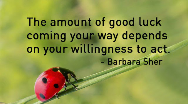 Motivational Good Luck Quotes
