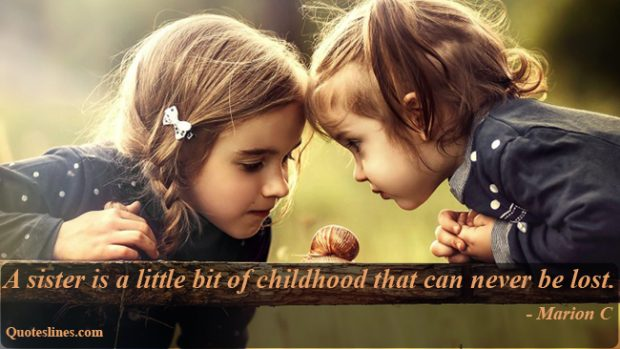 Sister-quotes-on-childhood-with-images