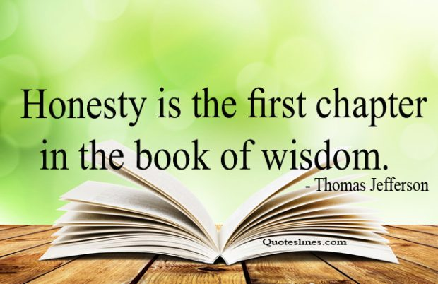 Wisdom-quotes-on-honesty-by-Thomas-Jefferson