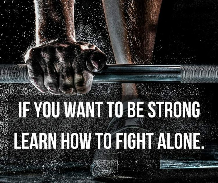 strong alone quotes