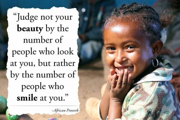 beautiful-girls-smile-African-Proverb