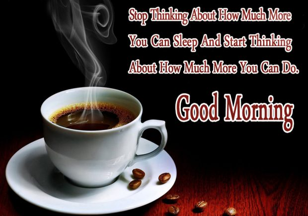Good Morning Coffee Quotes, Wishes With Coffee Cup Images