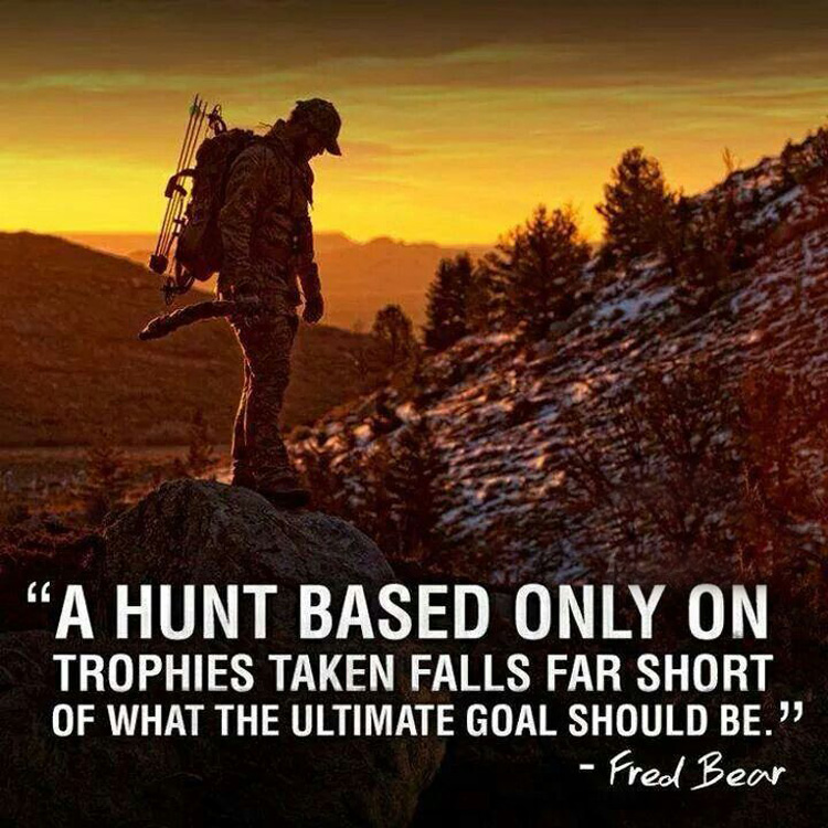 inspirational quotes on hunting