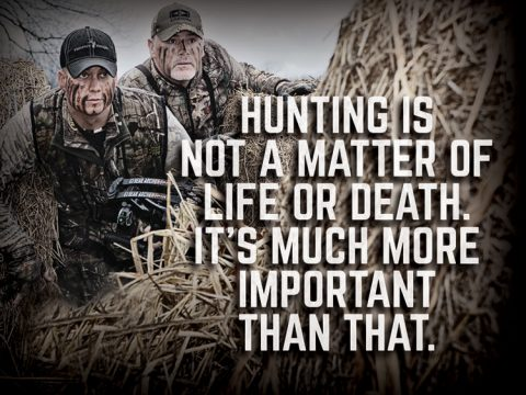best sayings about hunting