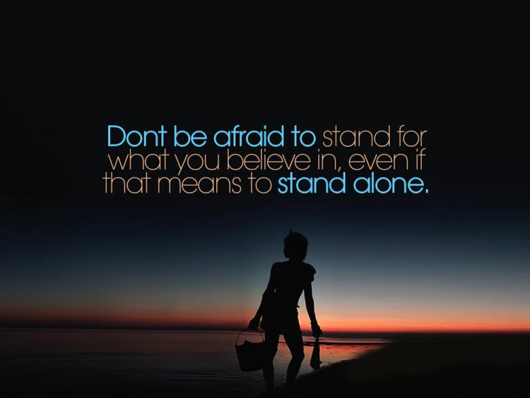 best quotes on being alone