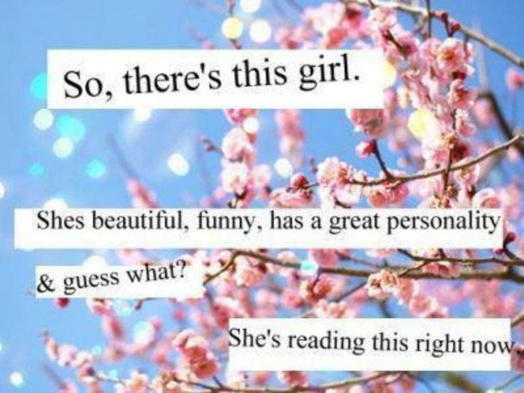 beautiful girl sayings
