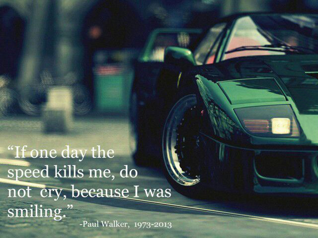 Quotes From Fast And Furious Paul Walker Quotesgram: Best Quotable Lines From The Fast And The Furious Movie