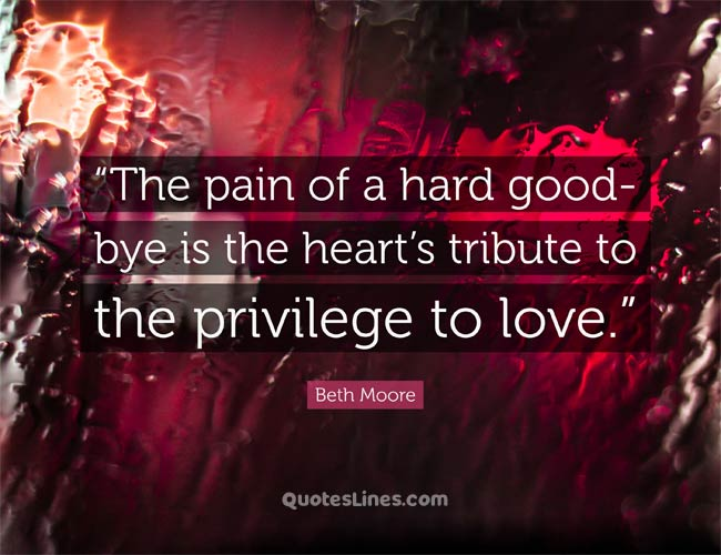 Emotional Goodbye Quotes for Him