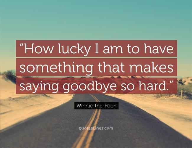 Emotional goodbye quotes