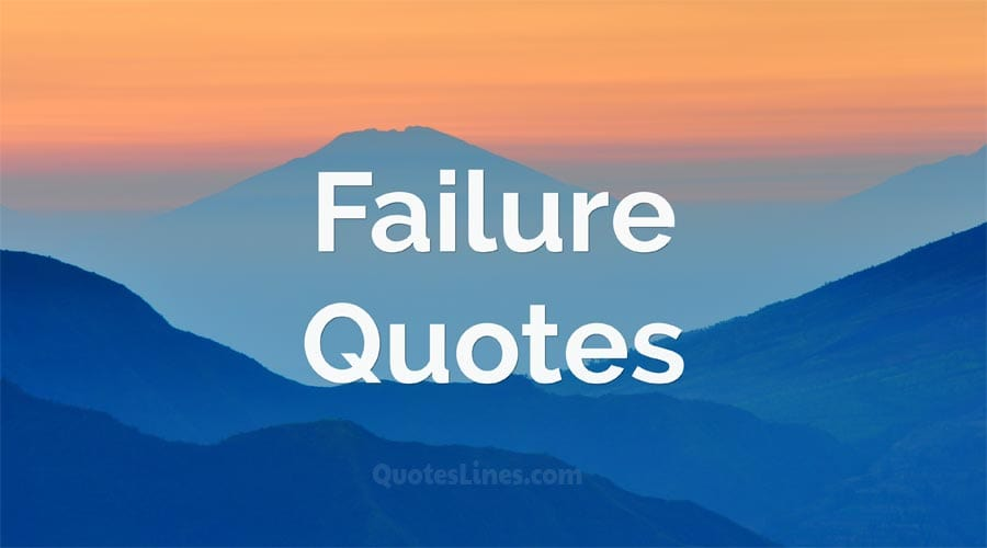 Failure-Quotes