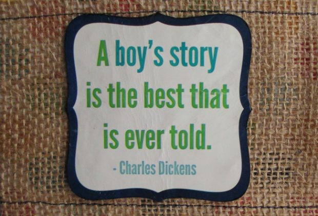 Famous-Baby-boy-quotes-and-sayings--Charles-Dickens
