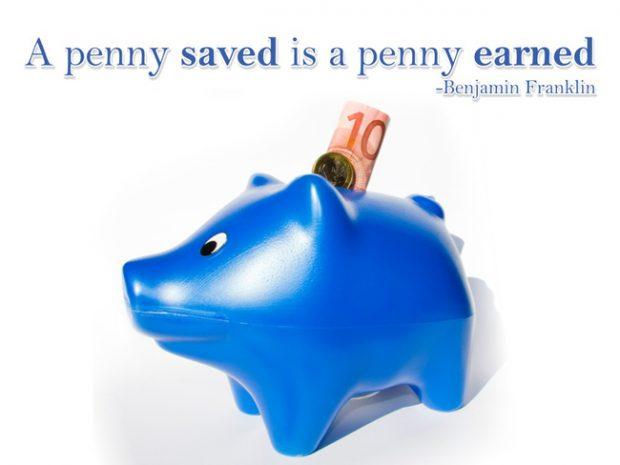 Famous saving money quotes