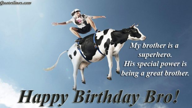 Happy Birthday My King Quotes ~ Funny birthday quotes for brothers with images