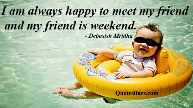 Funny-weekend-quotes-with-baby-image