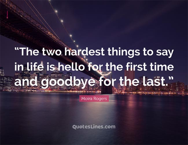 Heart Touching Goodbye Quotes