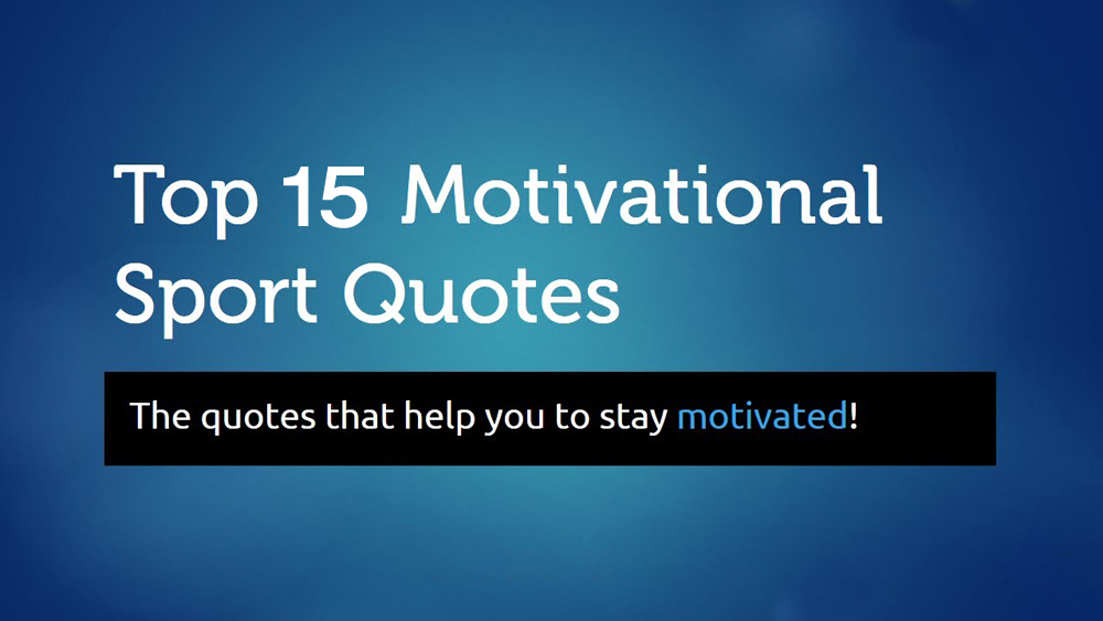 Inspirational Sports Quotes Pictures (1)