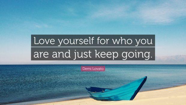 Keep going motivational words