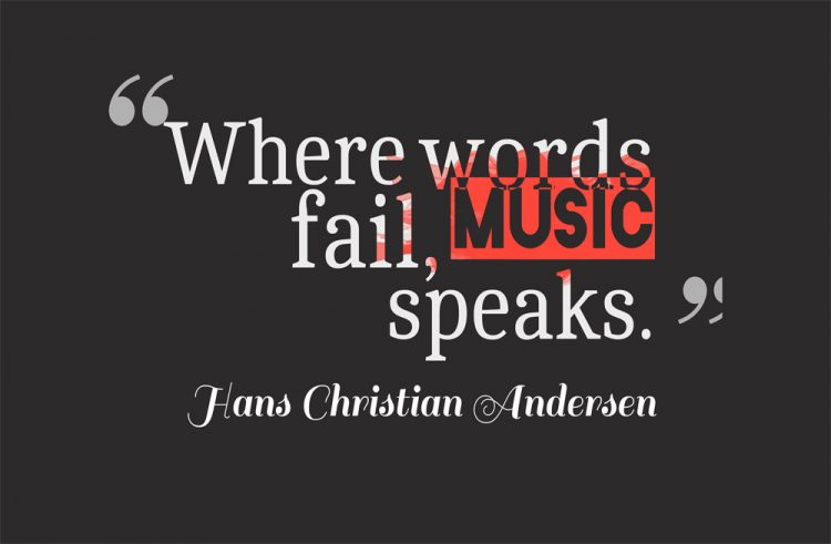 Inspirational Music Quotes Mesmerizing Famous Music Quotes And Sayings With Beautiful Pictures