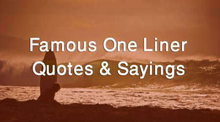 One Liner Quotes Images