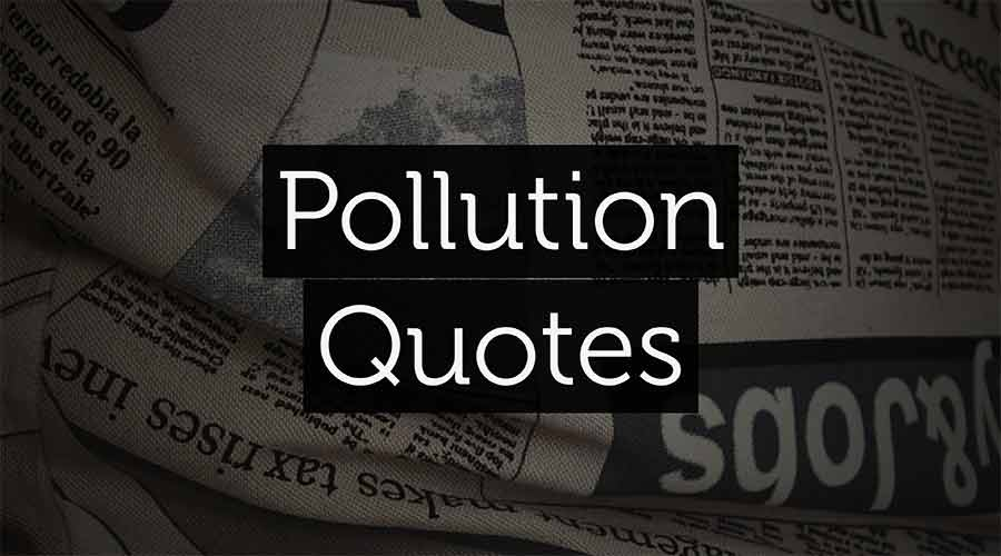 Pollution-Quote