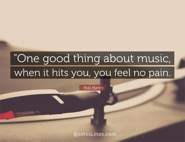 Powerful music quotes