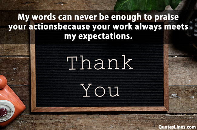Thank You Quotes for Employees Appreciation With Pictures