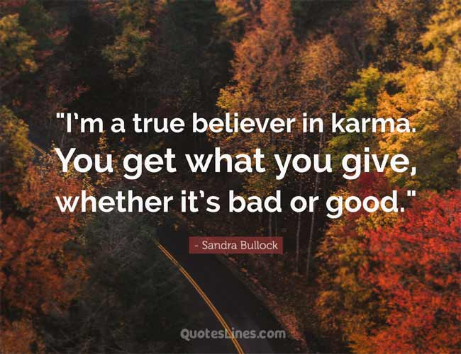 about karma quotes