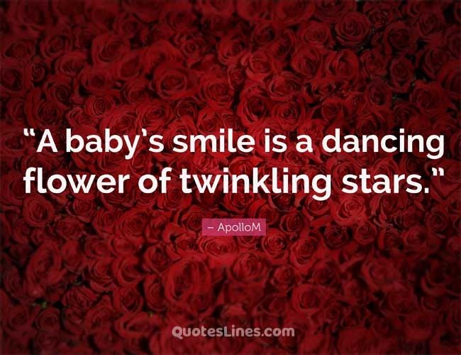 baby smile quotes for instagram