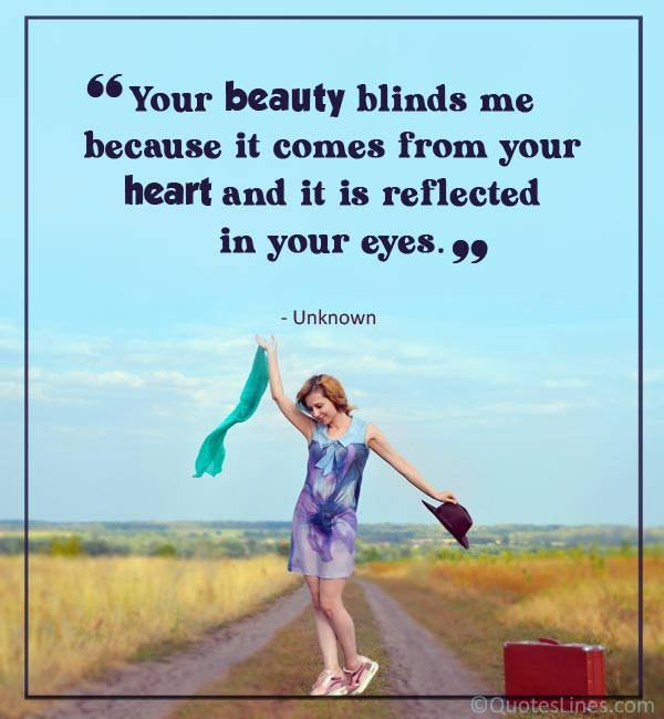 beautiful girl quotes in english