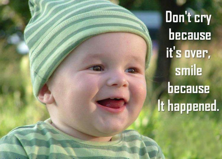 sweet baby smile sayings