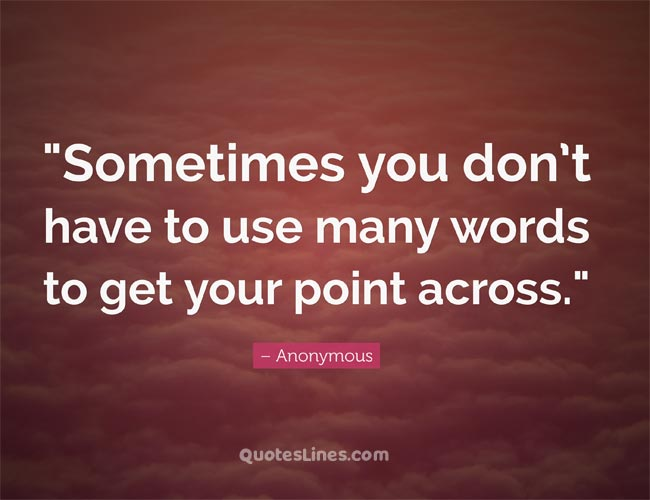 brilliant one liner quotes