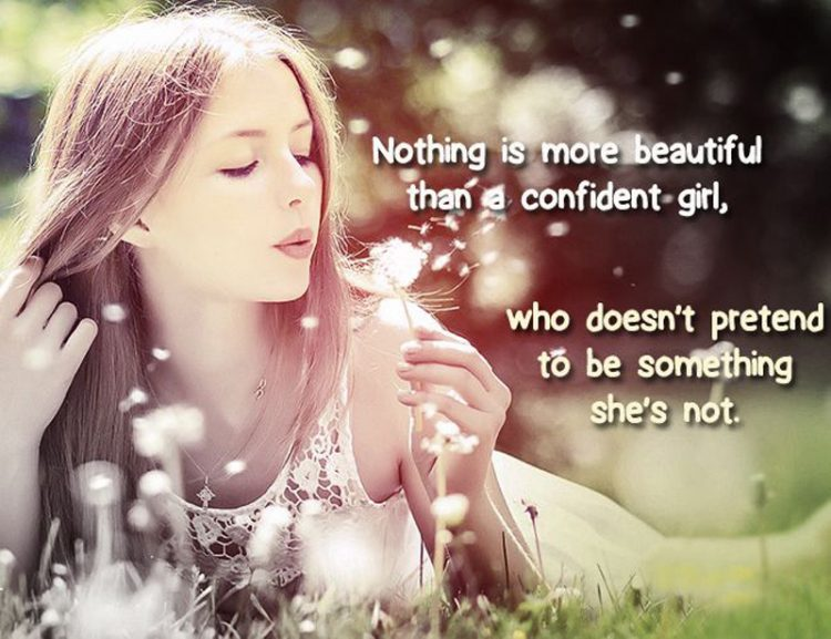 Confident Inspirational Girl Quotes
