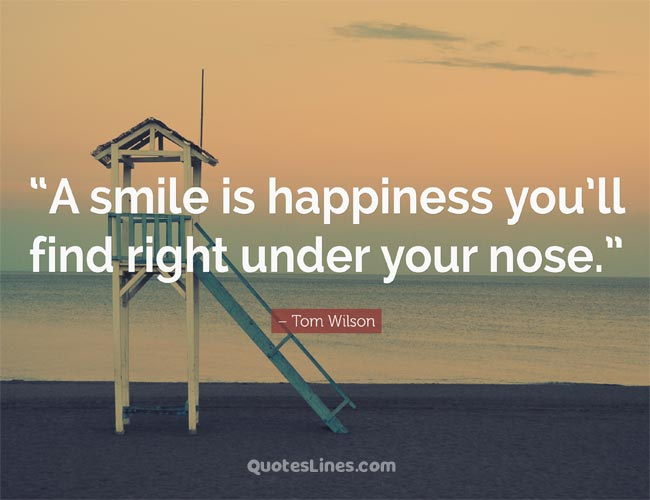 cute baby smile quote