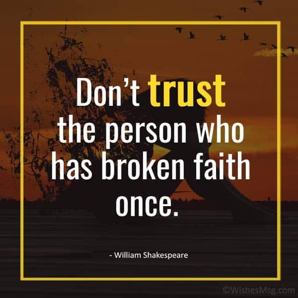 dont trust quotes