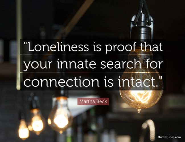 famous loneliness quotes