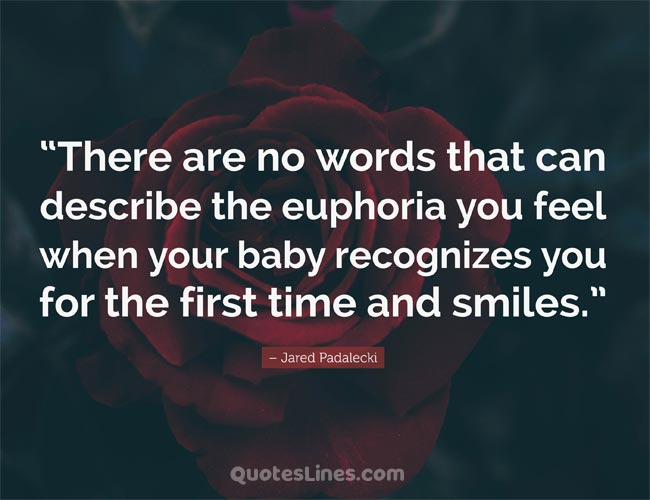 famous saying about baby smile