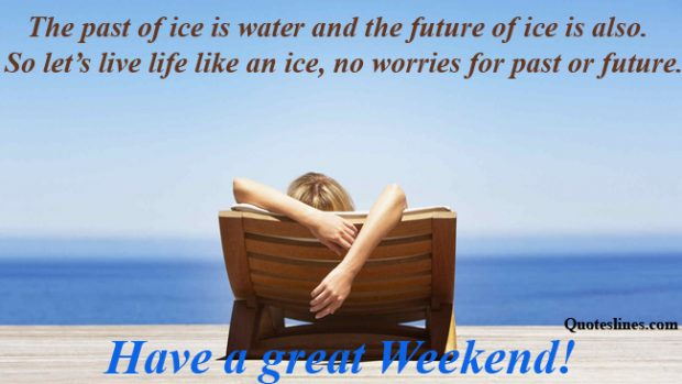 happy-weekend-quotes-relaxing-on-beach-images