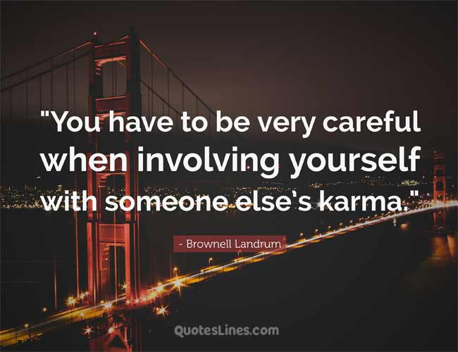 karma quotes in english
