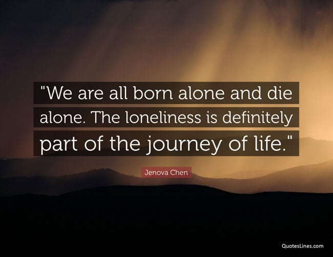 loneliness quotes motivational