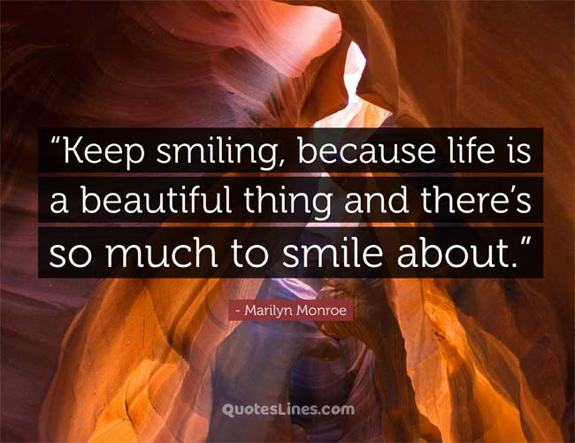 morning smile quotes