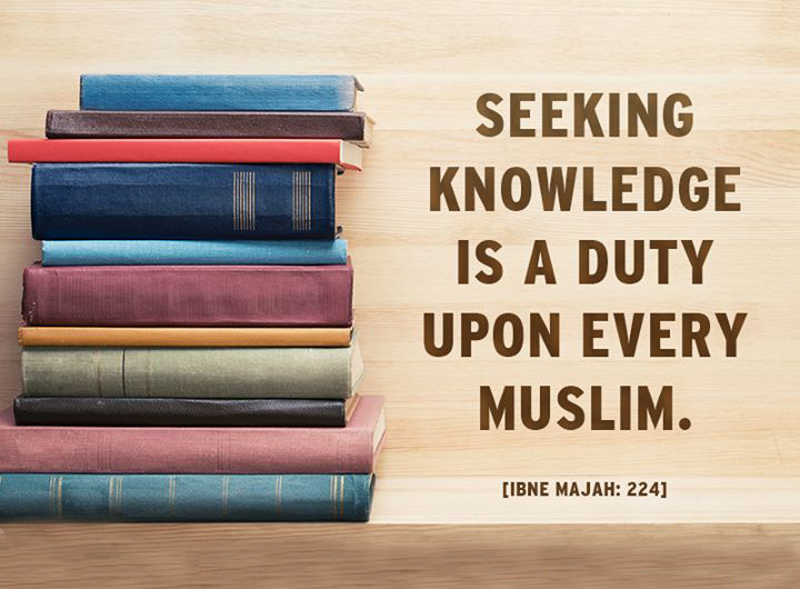 seeking knowledge essay The importance of knowledge all praise is for allah, the lord and cherisher of the universe we praise him and seek his help and forgiveness.