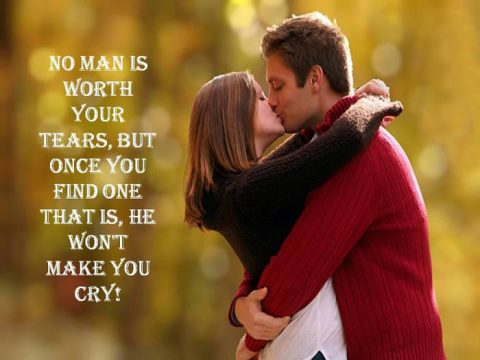 romantic-love-quotes-with-couple-kissing