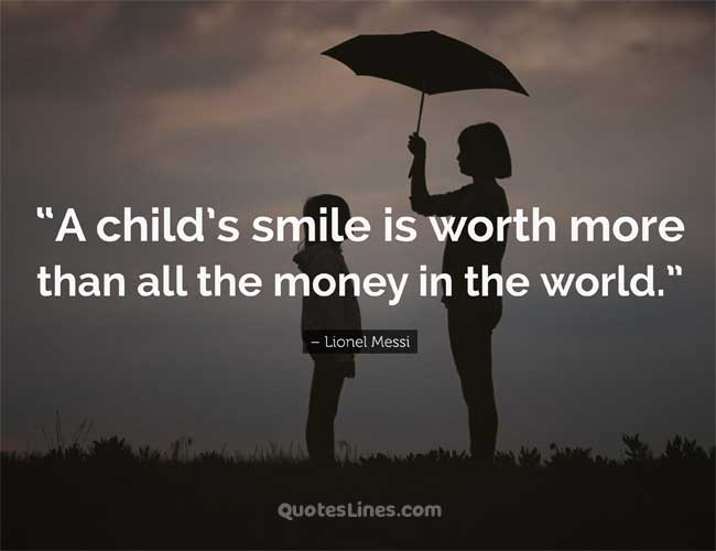 saying about baby smile quotes