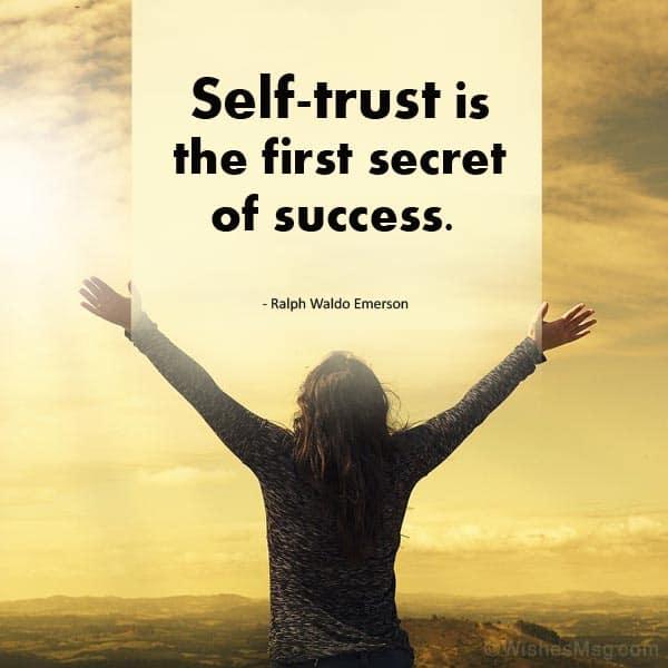self trust quotes