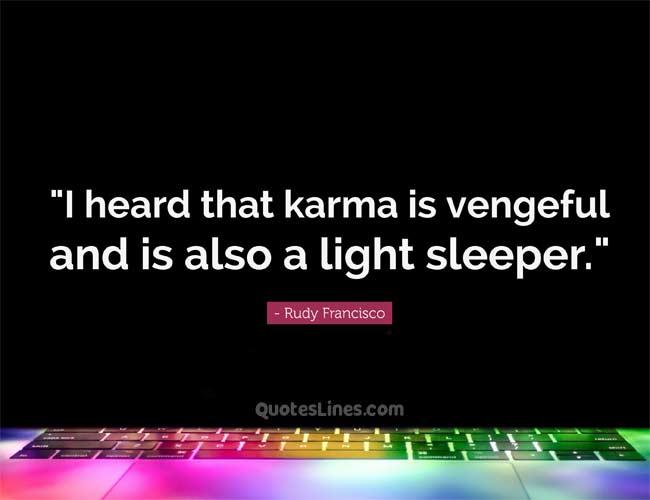 short karma quote