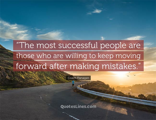 successful keep moving forward quote