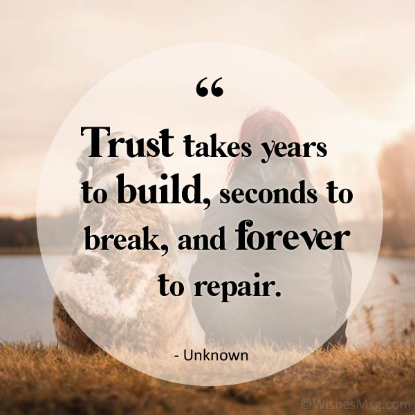 trust quotes with image
